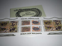 "FRANCOBOLLI STAMPS MOLDOVA 1993 ""WWF-REPTILES"" MNH** BOOKLET (CAT.5)"