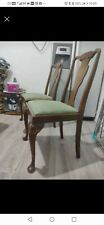 More details for 1930s dining chairs x4