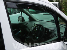 Tinted Pair Front Window Heko 2pc Wind Deflectors Ford Transit Connect (2013 on)