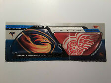 NHL Atlanta Thrashers vs Detroit Red Wings Ticket Stub 11/29/2000