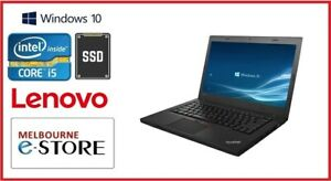 "Refurbished Lenovo L470 14"" Core i5 6200U 8GB RAM 128GB SSD 10 Pro Used Laptop"