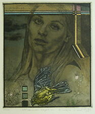 "Welski, Alf (1926-2007) - Farblithografie ""Stürzender Vogel"" 1980  39/50"