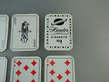 Minatur Werbekartenspiel Hunter Virgina Cigaretten um 1950 (57347)