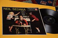 NEIL SEDAKA LP SAME DEBUT ALBUM 1°ST ORIG ITALY 1960 EX TOP RARE !!!!