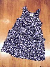 Women's Plus Size Baby Doll Dress 18/20 Vintage 90s Lane Bryant Empire Waist