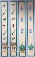 New 2 Sets Premade Scrapbook Borders Creative Memories Paper & Stickers Japan#4