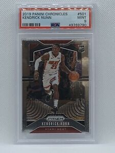 Kendrick Nunn Prizm Update Rookie Card 2019-20 Panini Chronicles PSA9