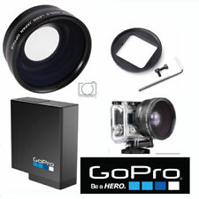 GOPRO HERO5 BLACK HD WIDE ANGLE LENS +MACRO + AABAT-001 GOPRO FACTORYWID BATTERY