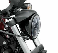 """67700116 Harley-Davidson Zierring für 5.75"""" Scheinwerfer schwarz Neu&ovp"""