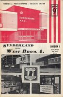 Sunderland v West Bromwich Albion 1967/8 (4 May)