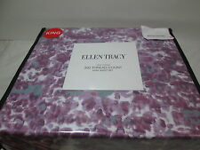 New Ellen Tracy King Sheet Set ~ 300 Thread Count ~ Purple, Seafoam, White Nip