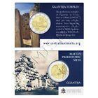 MALTA 2 euros 2016 Templo Ggantija (Coin Card) - con marca de ceca