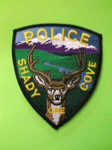 "5"" SHADY COVE, OREGON OR POLICE PATCH SHERIFF"