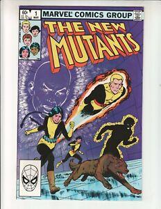 New Mutants 1 VFNM (9.0) 3/83 Claremont scripts! McLeod artwork!