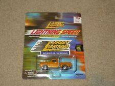 Johnny Lightning Speed 1978 Dodge Pickup Truck Orange MOC 2000
