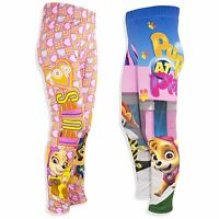 Paw Patrol Official Girls Leggings Trousers Bottoms Skye Character 2-6 Years