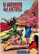 EL GUERRERO DEL ANTIFAZ (Reedición color) nº: 116.  Valenciana, 1972-1978.