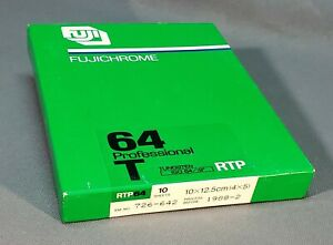 Fujichrome Pro 64T 4X5 10 Sheets Sealed, Unopened, Kept Cold (please read...)