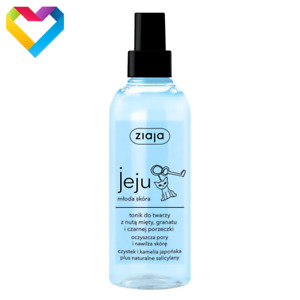 Ziaja Jeju Face Toner For Acne Prone Combination Skin Tonic Spray 200ml  Z00598