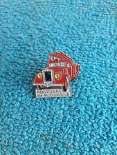 Vintage Pin's Pompier de Plouasne Camion Badge