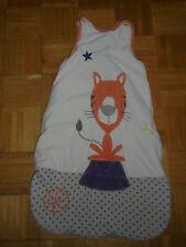 Gigoteuse Turbulette KITCHOUN KIABI Beige  Tigre Orange Etoile Violette 2ème age