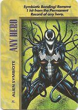 OVERPOWER Any Hero Alien Symbiote - She-Venom - IQ - Rare
