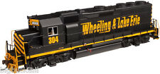 "Atlas ""SILVER SERIES"" WHEELING & LAKE ERIE GP-40 Loco #304 NEW in Original Box"