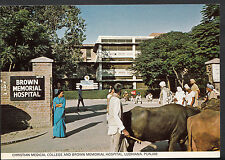 India Postcard - Christian Medical College, Ludhiana, Punjab   U1554