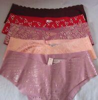 Victoria's Secret MEDIUM Panties Underwear NO SHOW CHEEKY U Pick Color RAW CUT