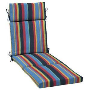 DriWeave Tuscan Stripe Outdoor Chaise Cushion