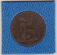 1 Penny Großbritannien 1882 H Heaton Victoria Great Britain