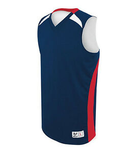Custom Reversible Basketball Team Jerseys (Inculdes 10 Jerseys w/logo & number)