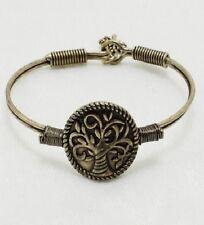 Antique Gold Tree of Life FASHION Hook Closure Bracelet