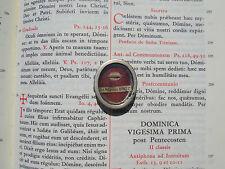 Vatican reliquary 1600s relic Last Supper Table Cenacle Mensa Jesus Christ COA