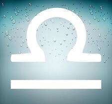 Adesivi adesivo sticker segno zodiacale astrologia macbook mac bilancia bianco