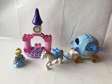 LEGO Duplo Prinzessin Set 6153 - Cinderella mit Pferd + Kutsche - komplett !