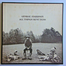GEORGE HARRISON - All Things Must Pass - 3 LP Box Apple STCH 639 Poster Sleeves