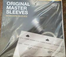 Mobile Fidelity Original Master Sleeves  1 pack of 50  LP VINYL Sleeves NEW