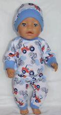Bambole vestiti 43cm Baby Born Bambola o simili dimensioni regalo Vestito Ragazza Set Pigiama Pj