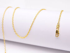 """1PCS Wholesale 24"""" nice 18K Yellow GOLD Filled Rolo CHAIN NECKLACES For Pendant"""