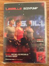 Les Mills Bodypump 75 DVD, CD, Notes Body Pump