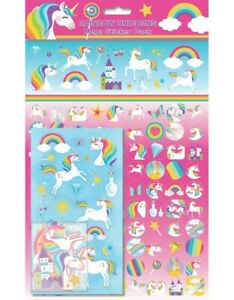 Rainbow Unicorns Mega Pack Stickers over 130 Stickers - Unicorn