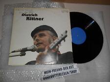 LP sociopolitici Dietrich Kittner-politico cabaret provenienti dalla Germania (10) canzone bibliografi