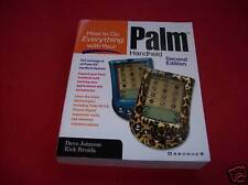 HOW TO DO EVERYTHING WITH YOUR PALM HANDHELD 2 Edition REDUCED PRICE