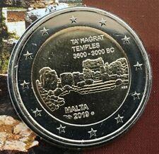 2 Euro Gedenkmünze Malta 2019 - Ta' Ħaġrat (CoinCard)