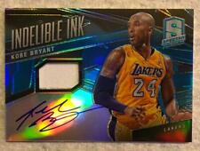 2013-14 Spectra KOBE  BRYANT Auto Indelible Ink blue Jersey On Card Auto # 30/40