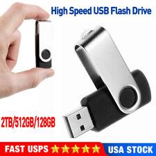 Mini USB Flash Drive Memory U Stick Pendrive Thumb Drive 2TB 512GB 128GB US Ship