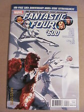 Fantastic Four #600 Marvel Comics 100 Page 50th Anniversary Issue 9.4 Near Mint