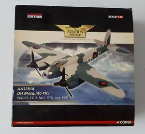 Corgi  AA32814 - DH Mosquito PR.I W4051, LY-U. No.1 PRU, July 1941 SPARE/REPAIR