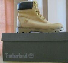 """Timberland Classic 6"""" Waterproof Women Wheat Nubuck Leather Lace Up Boots /US 8"""
